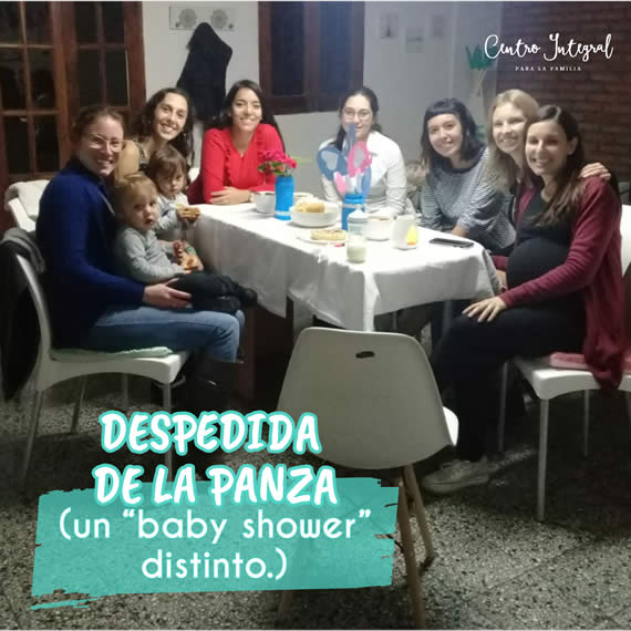 "Despedida de la panza (un ""baby shower"" distinto)⠀"